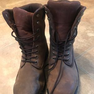 Size 11 Men's Steeled toe boots